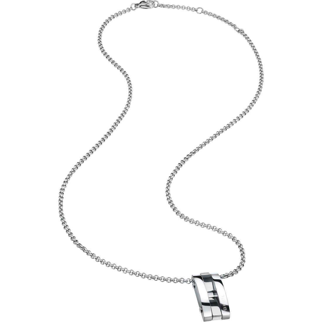 necklace man jewellery Breil Be Black TJ1926