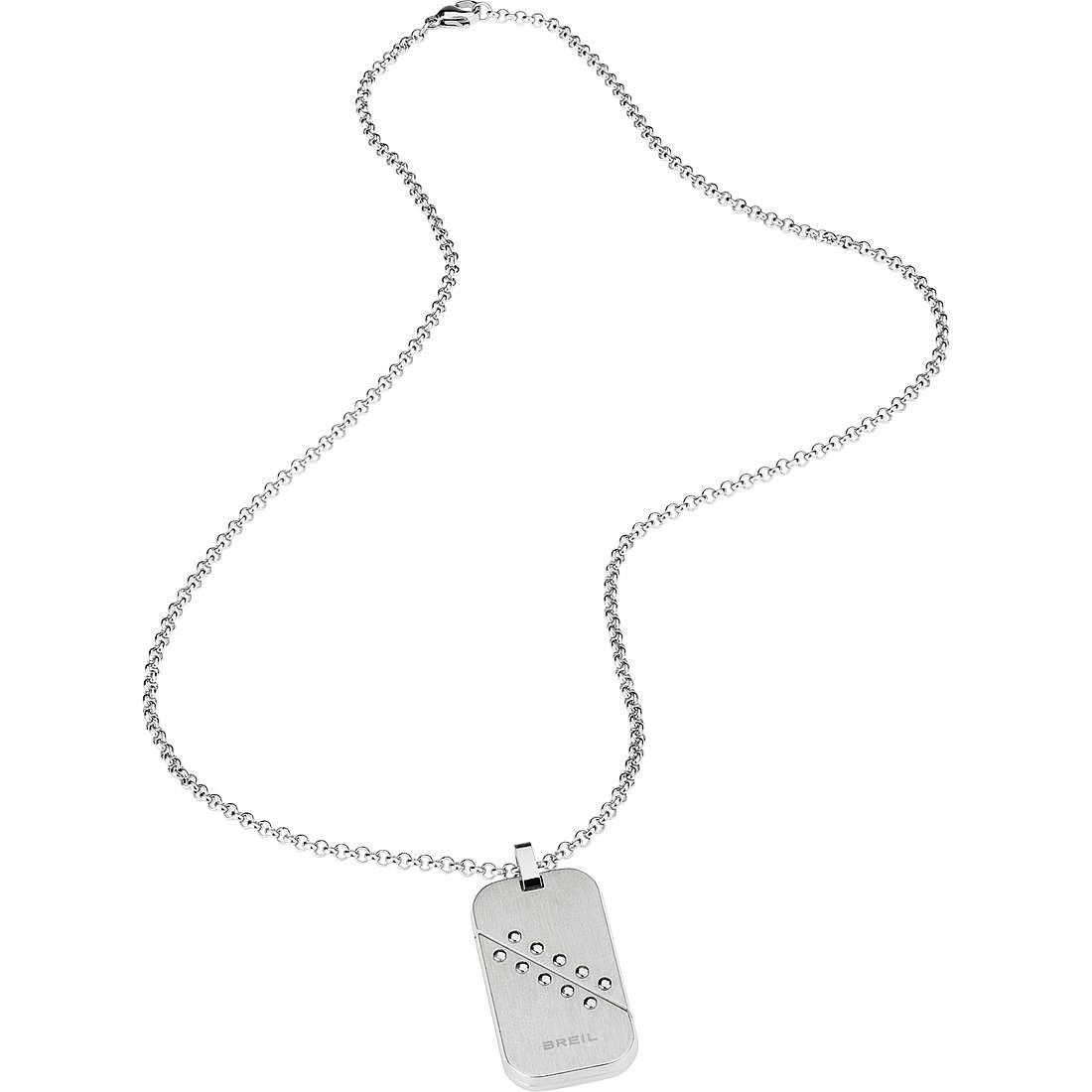necklace man jewellery Breil Bodywork TJ1823
