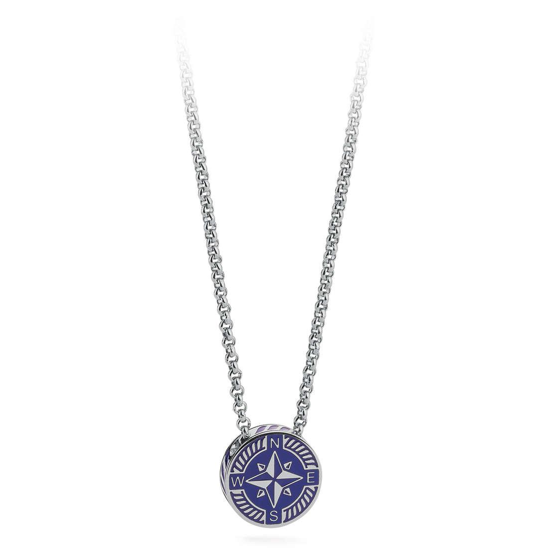 necklace man jewellery Brosway Nautilus BNU01