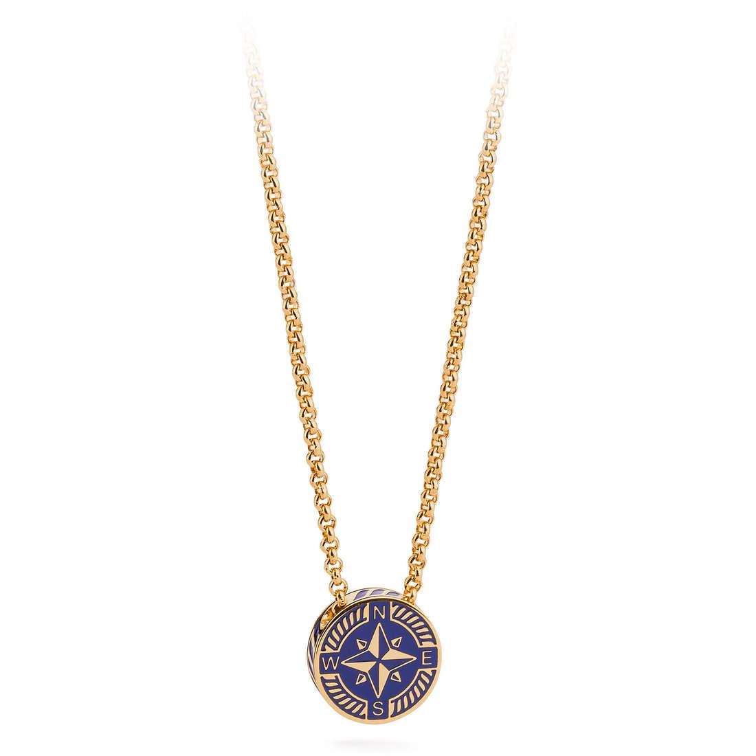 necklace man jewellery Brosway Nautilus BNU02