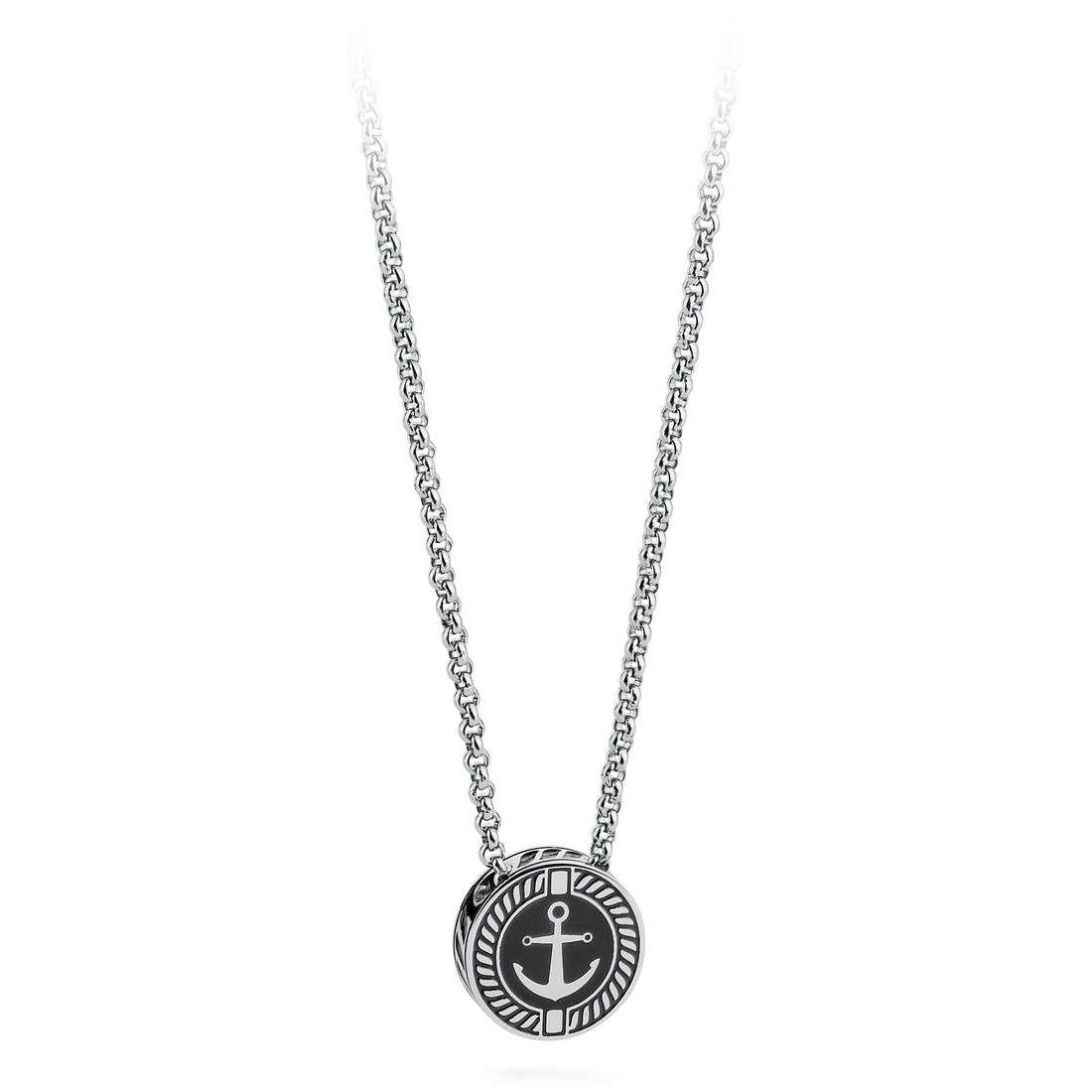 necklace man jewellery Brosway Nautilus BNU04