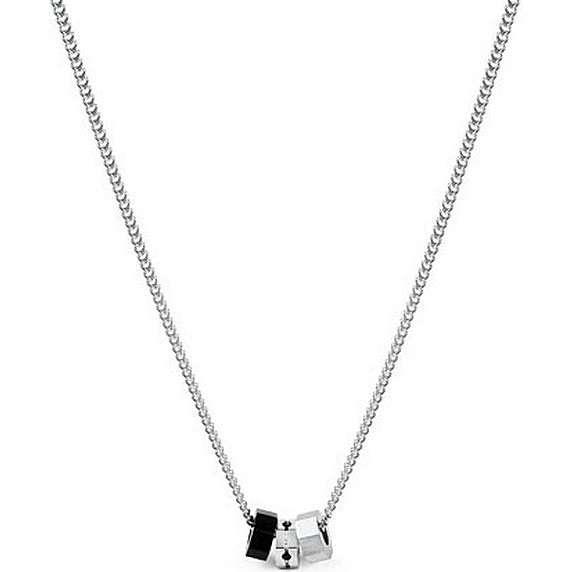 necklace man jewellery Brosway Octagons BOC05