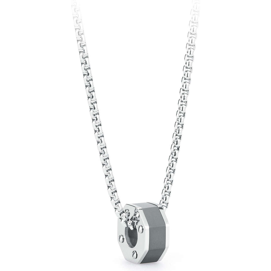 necklace man jewellery Brosway Steam BSE03