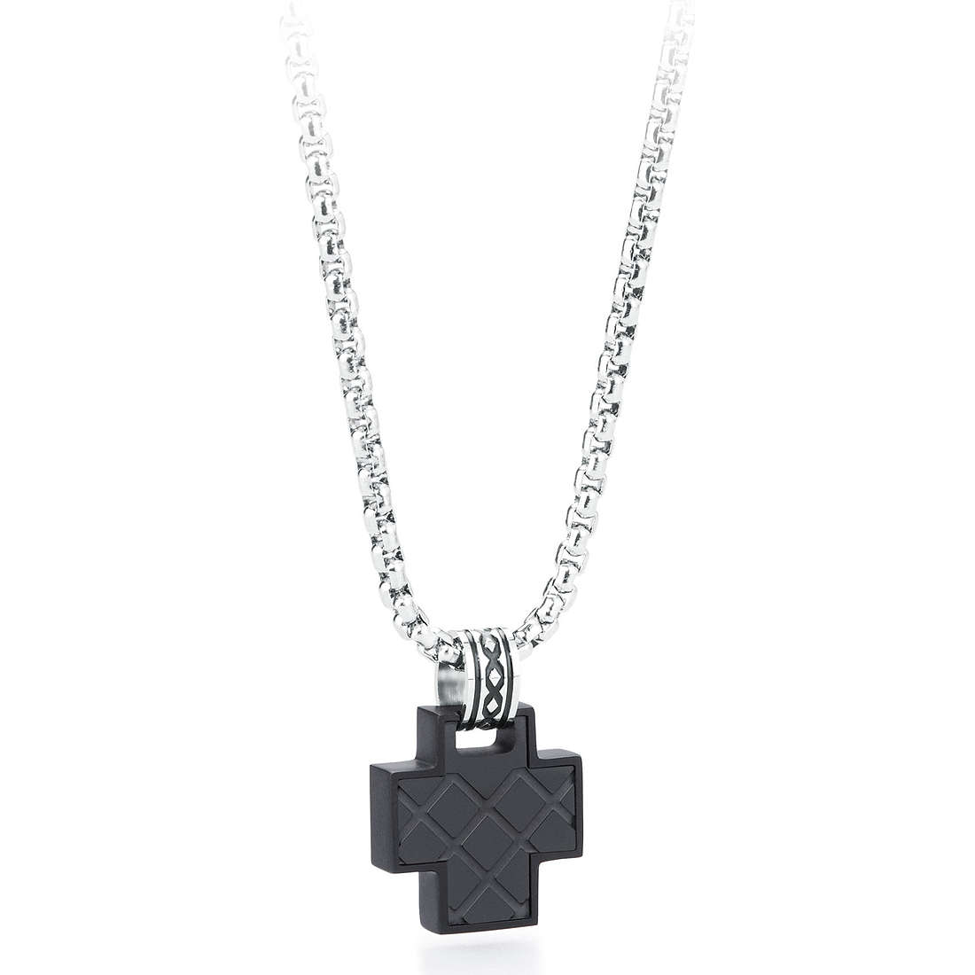 necklace man jewellery Brosway Steam BSE04