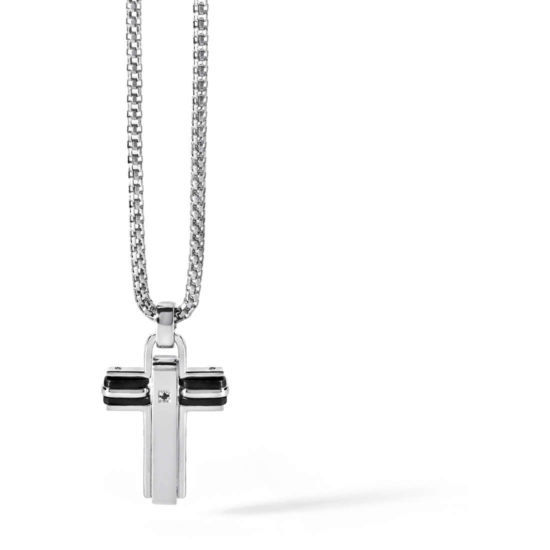 necklace man jewellery Comete Acciaio UGL 402