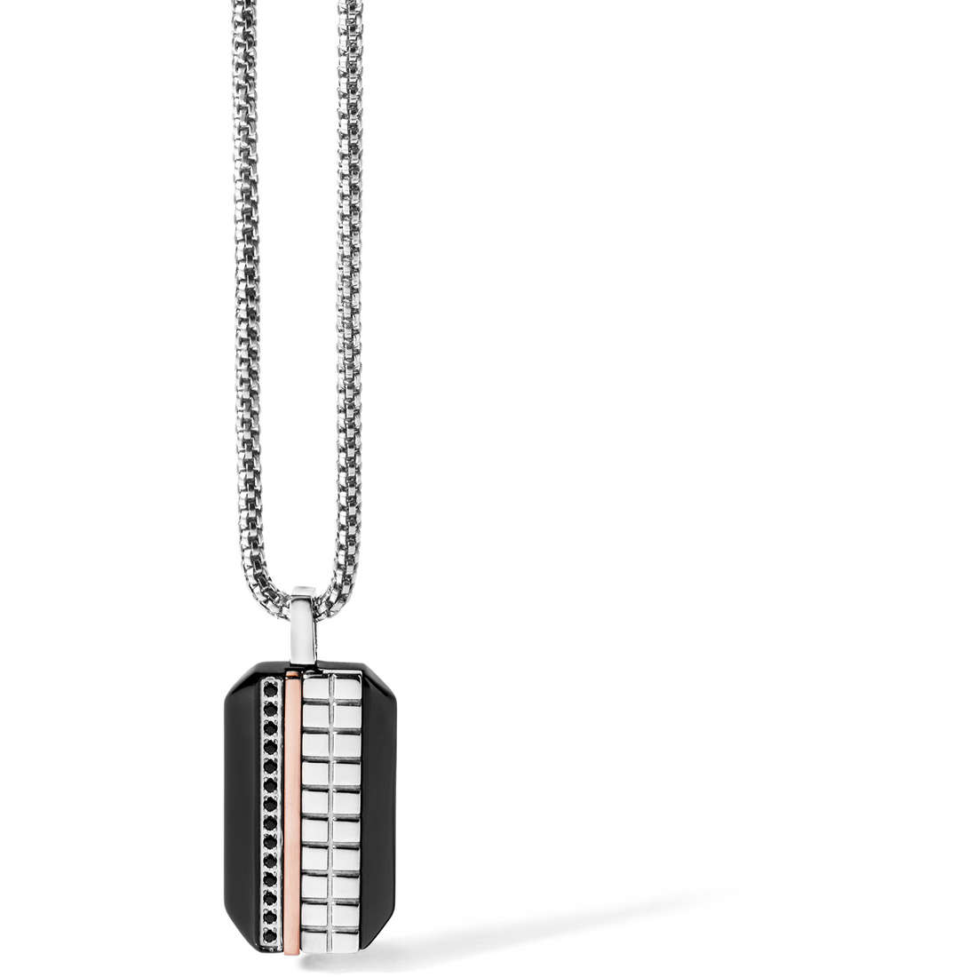 necklace man jewellery Comete Acciaio UGL 416