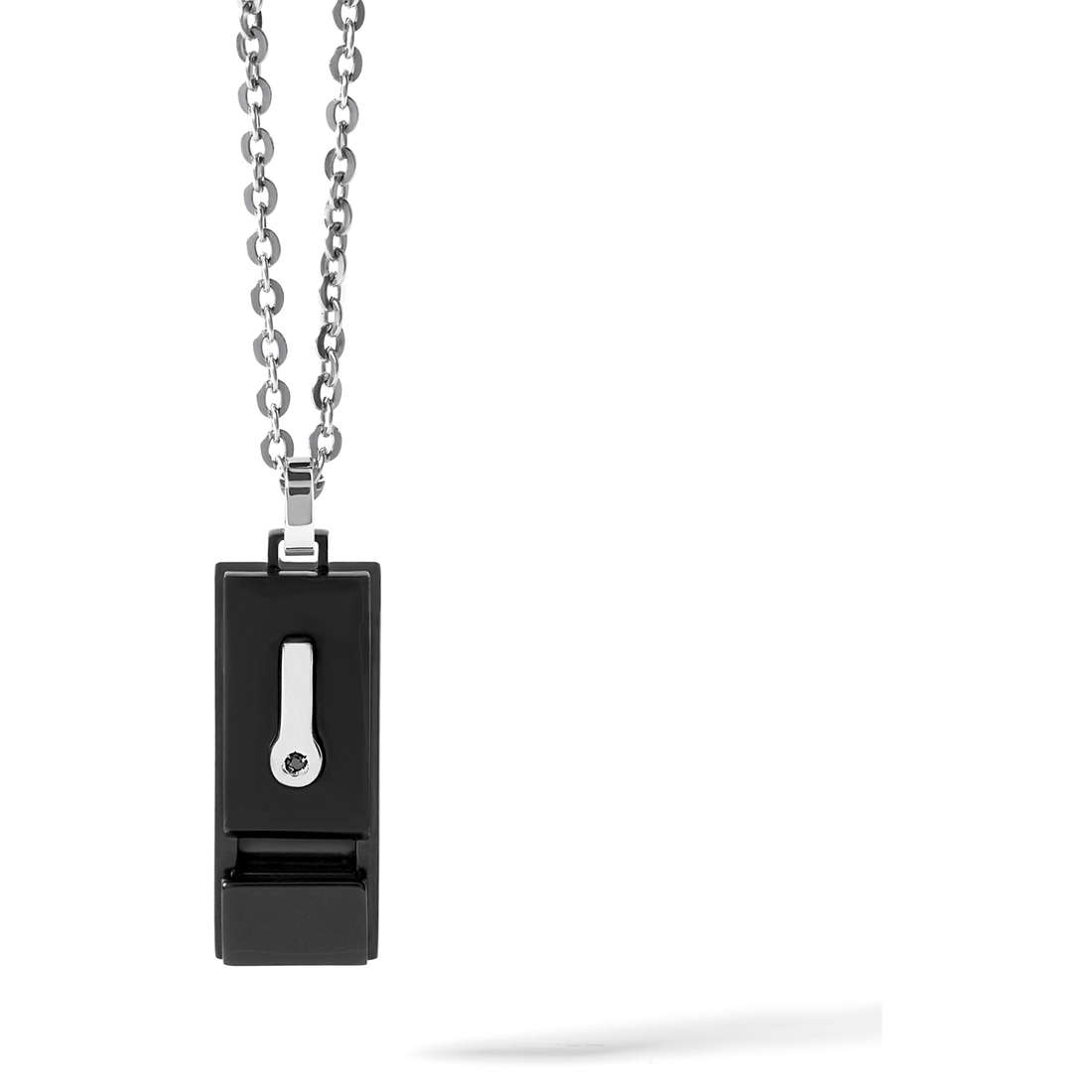 necklace man jewellery Comete Acciaio UGL 450