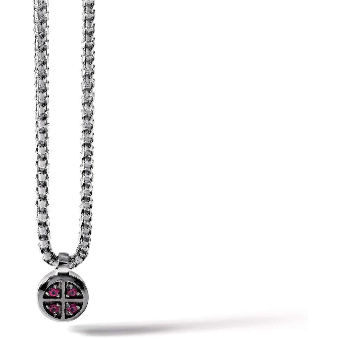 necklace man jewellery Comete Argento 925 UGL 384