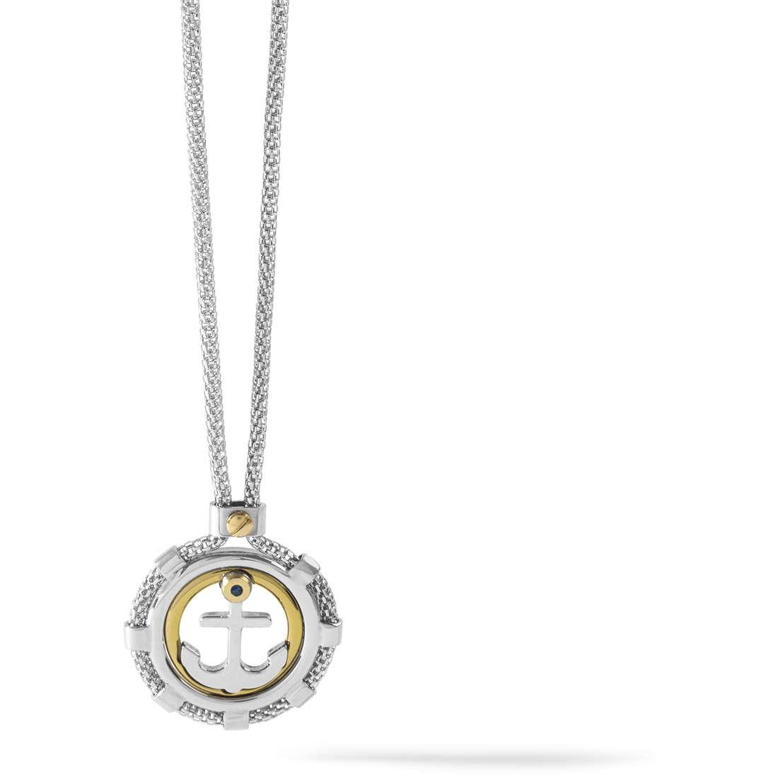 necklace man jewellery Comete Blu di Genova UGL 563