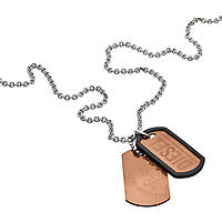 necklace man jewellery Diesel Double Dogtags DX1096040