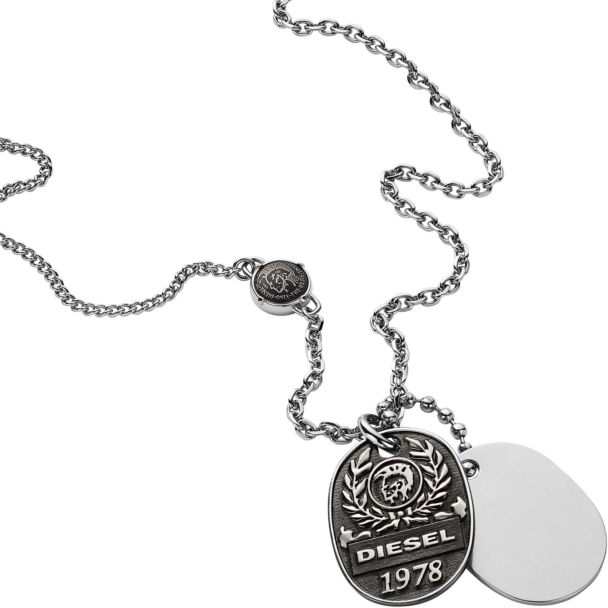 Necklace man jewellery diesel double dogtags dx1106040 necklaces diesel necklace man jewellery diesel double dogtags dx1106040 zoom aloadofball Images