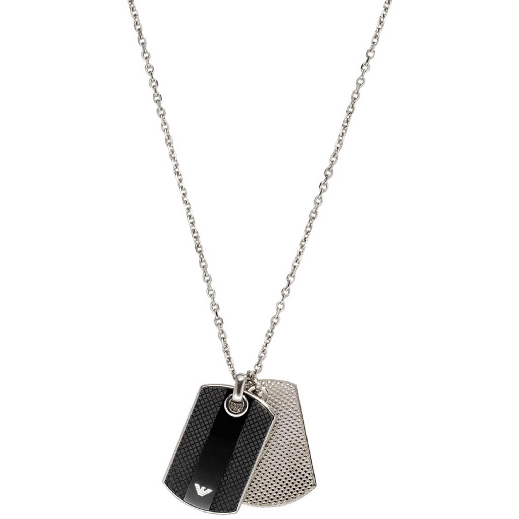 necklace man jewellery emporio armani egs1542040 necklaces