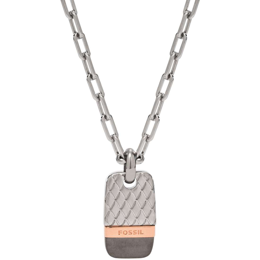 necklace man jewellery Fossil Holiday 15 JF02084998