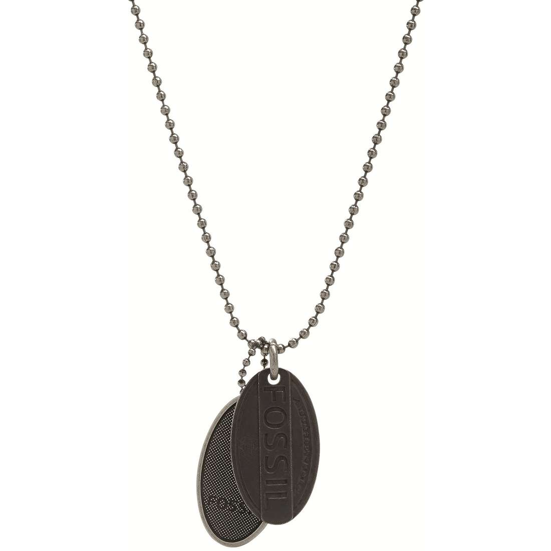 necklace man jewellery Fossil JF00059797