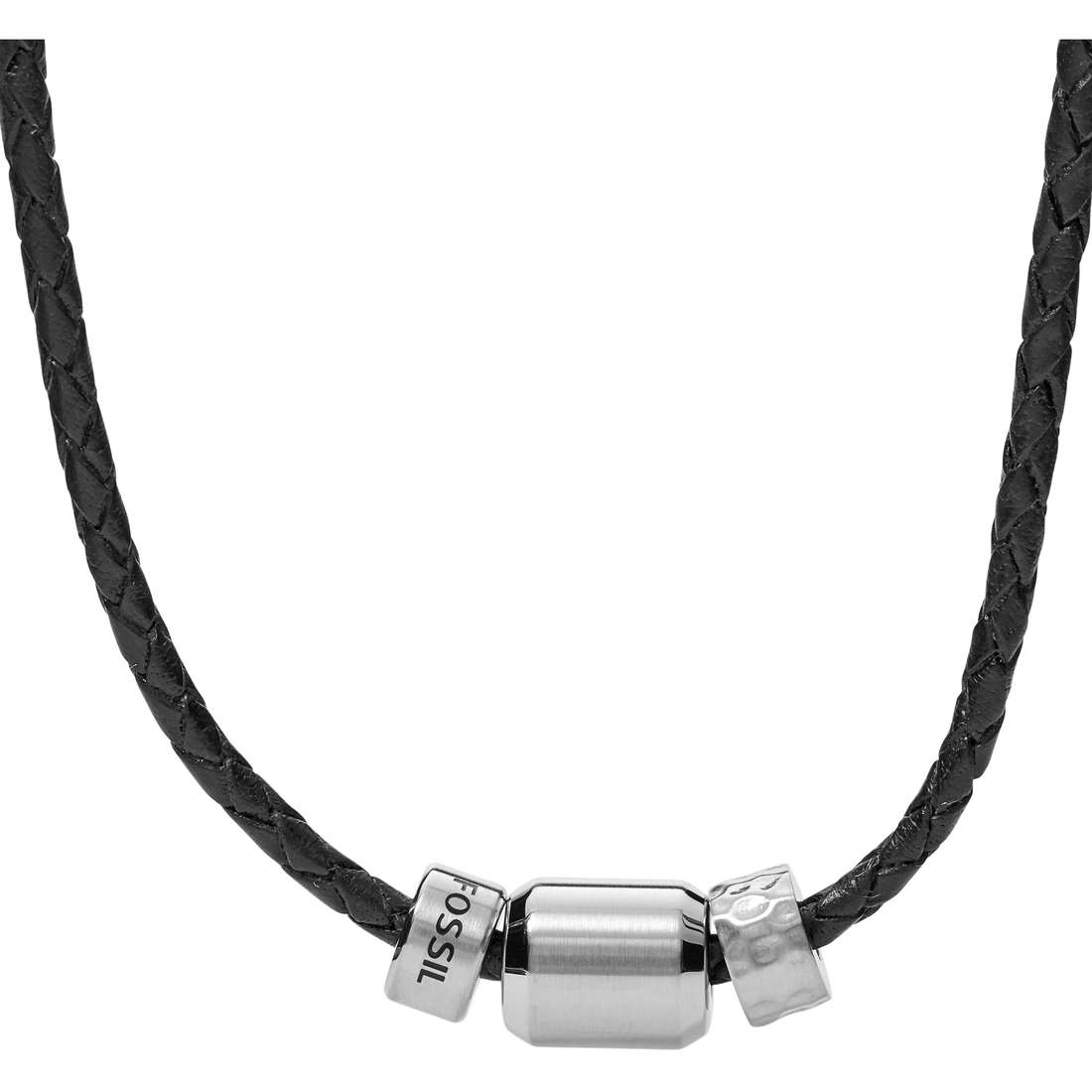 necklace man jewellery Fossil JF02474040