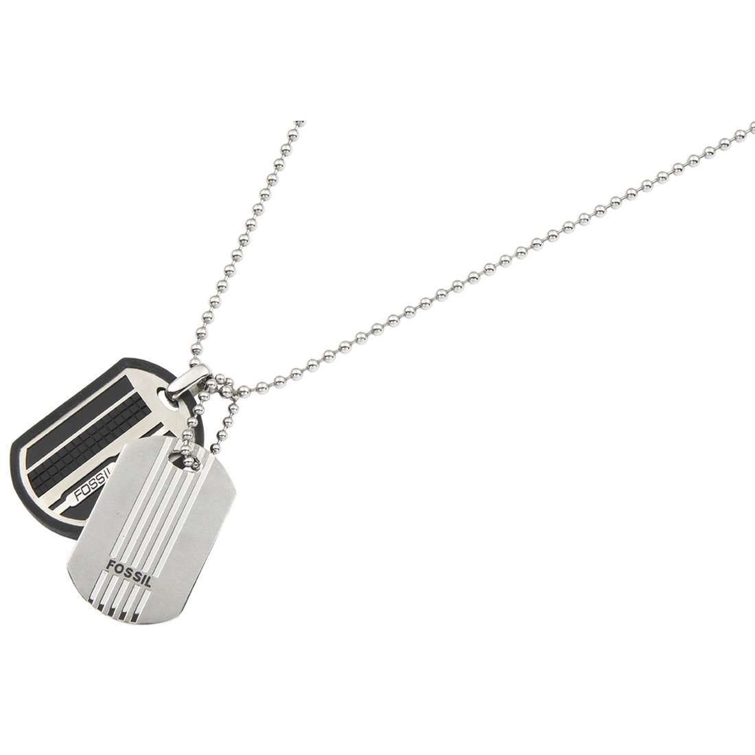 necklace man jewellery Fossil JF83551040