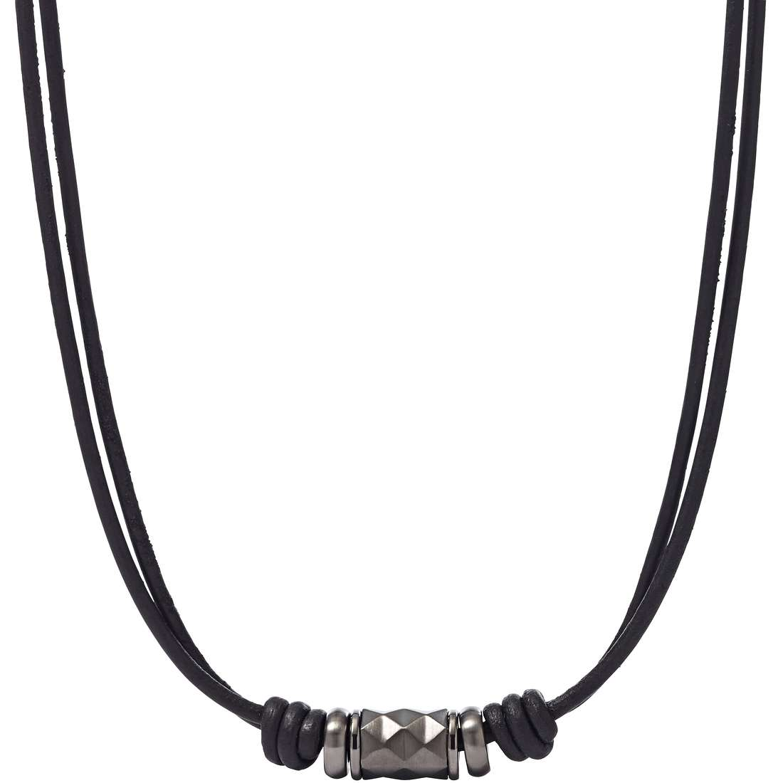 necklace man jewellery Fossil Summer 15 JF01848001