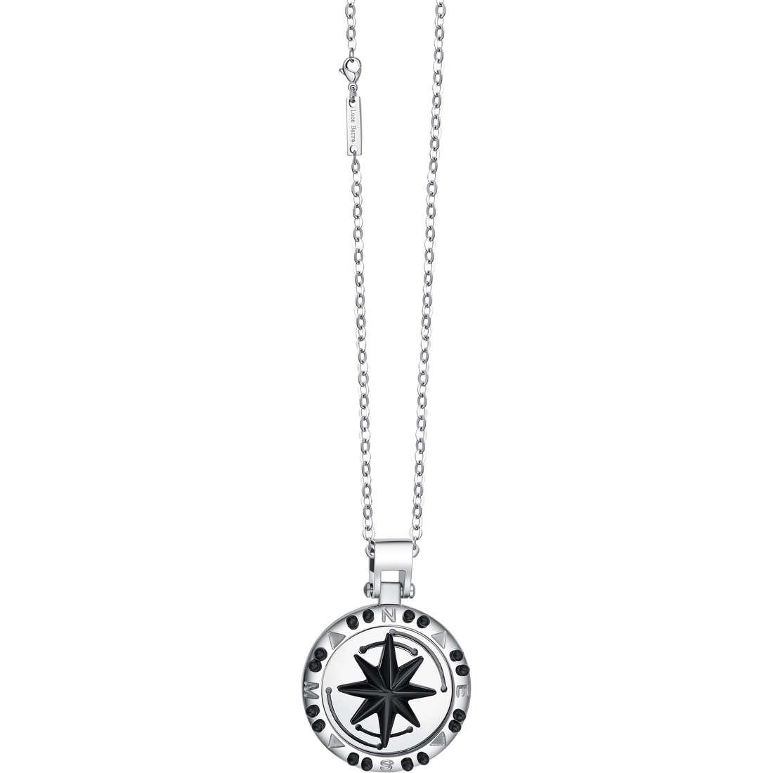 necklace man jewellery Luca Barra LBCA291