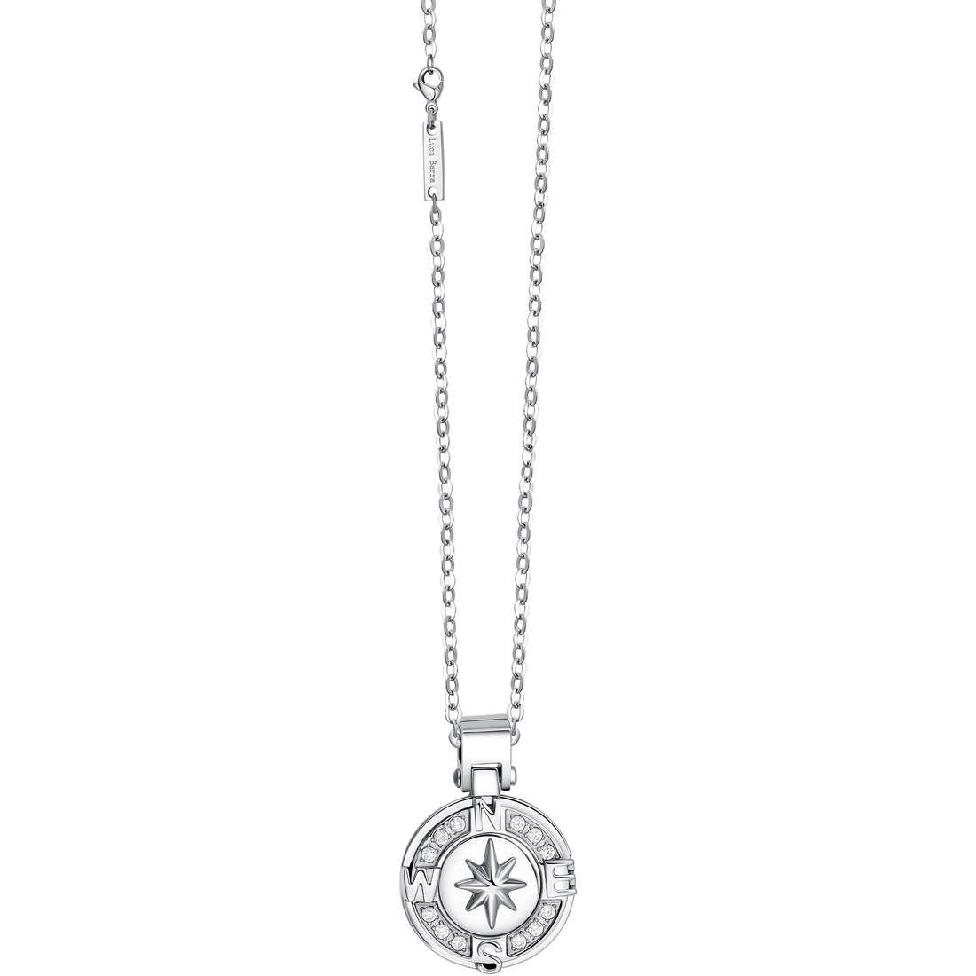necklace man jewellery Luca Barra LBCA292