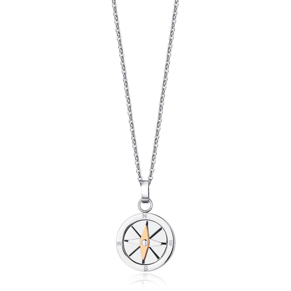 necklace man jewellery Luca Barra LBCA319