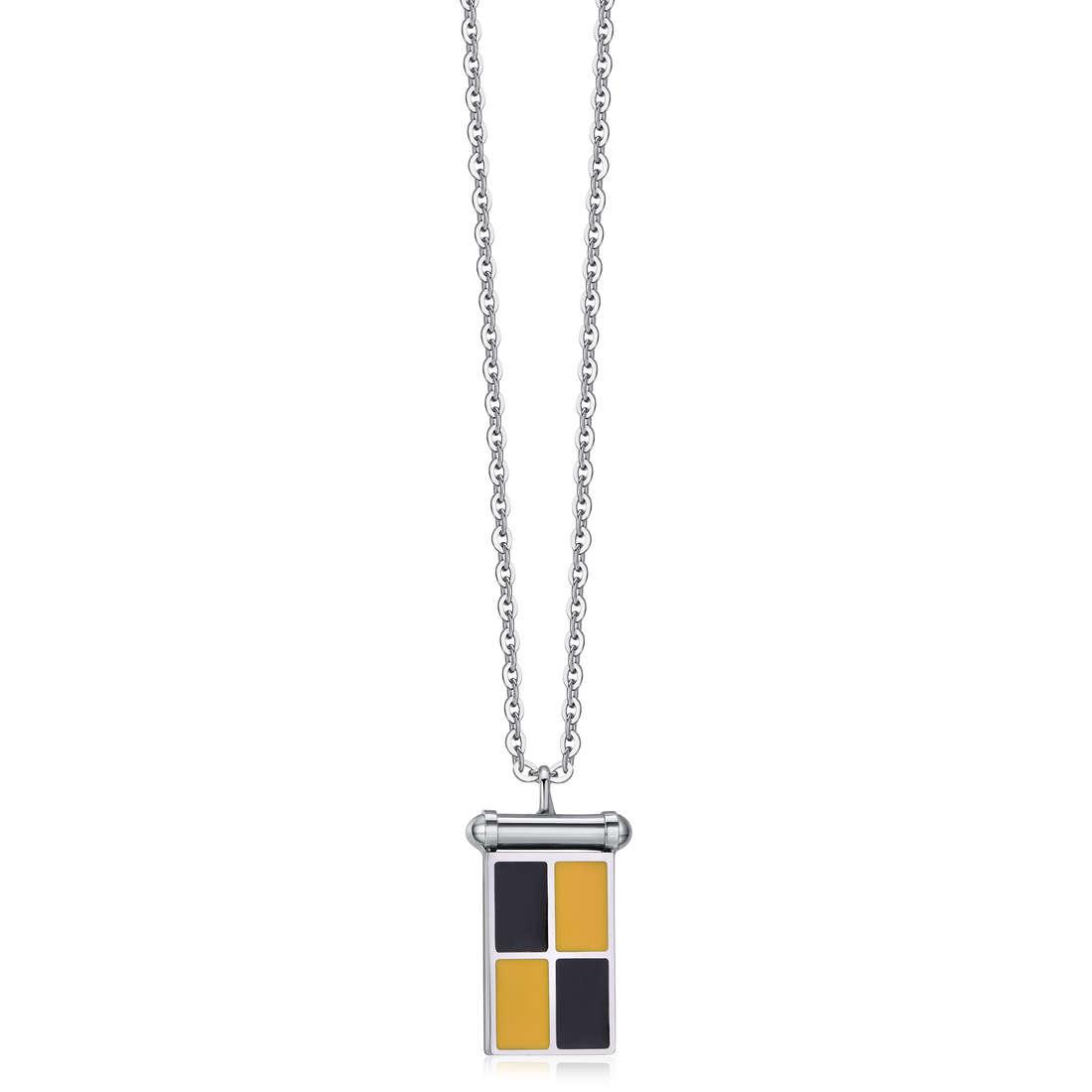 necklace man jewellery Luca Barra LBCA361