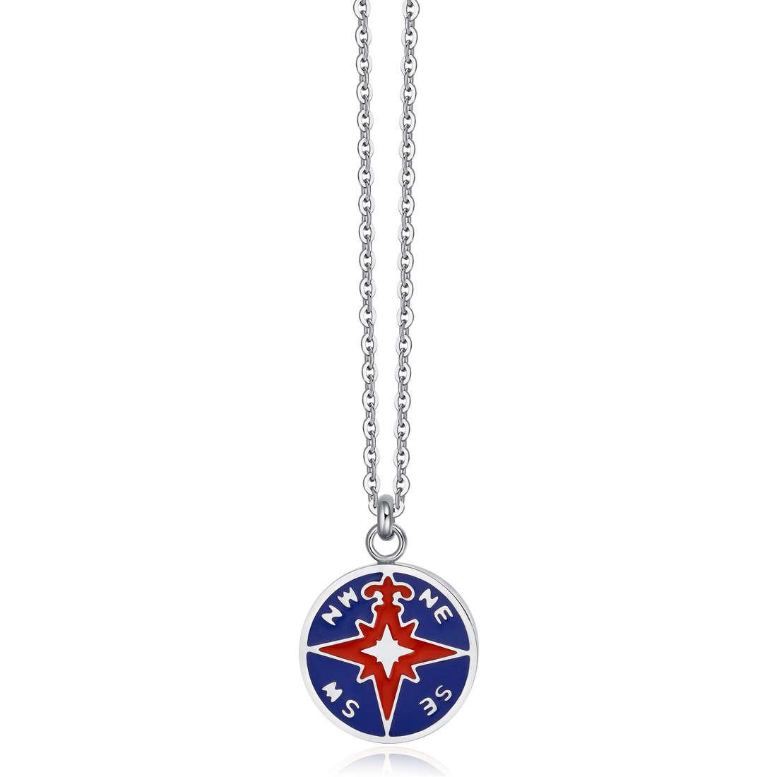 necklace man jewellery Luca Barra LBCA375