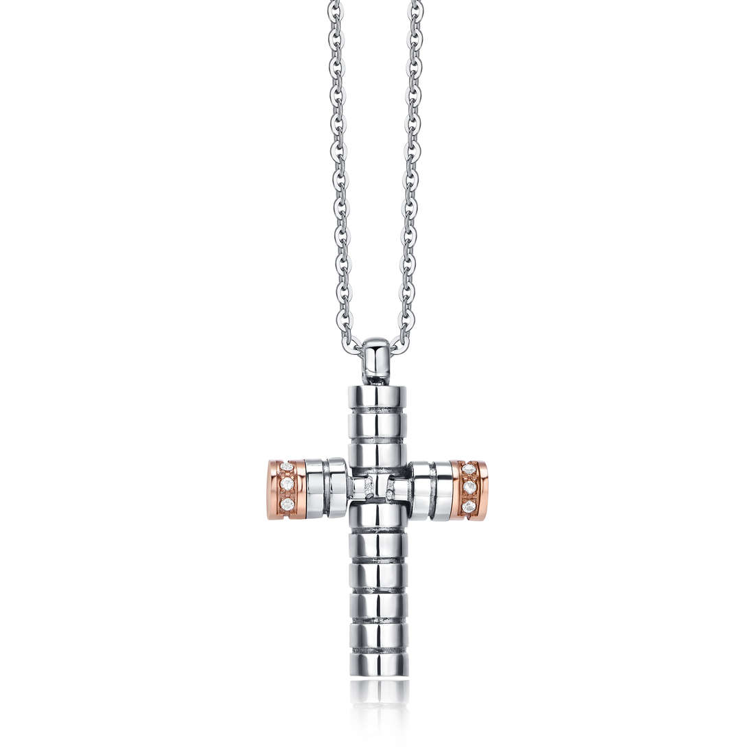 necklace man jewellery Luca Barra LBCA383