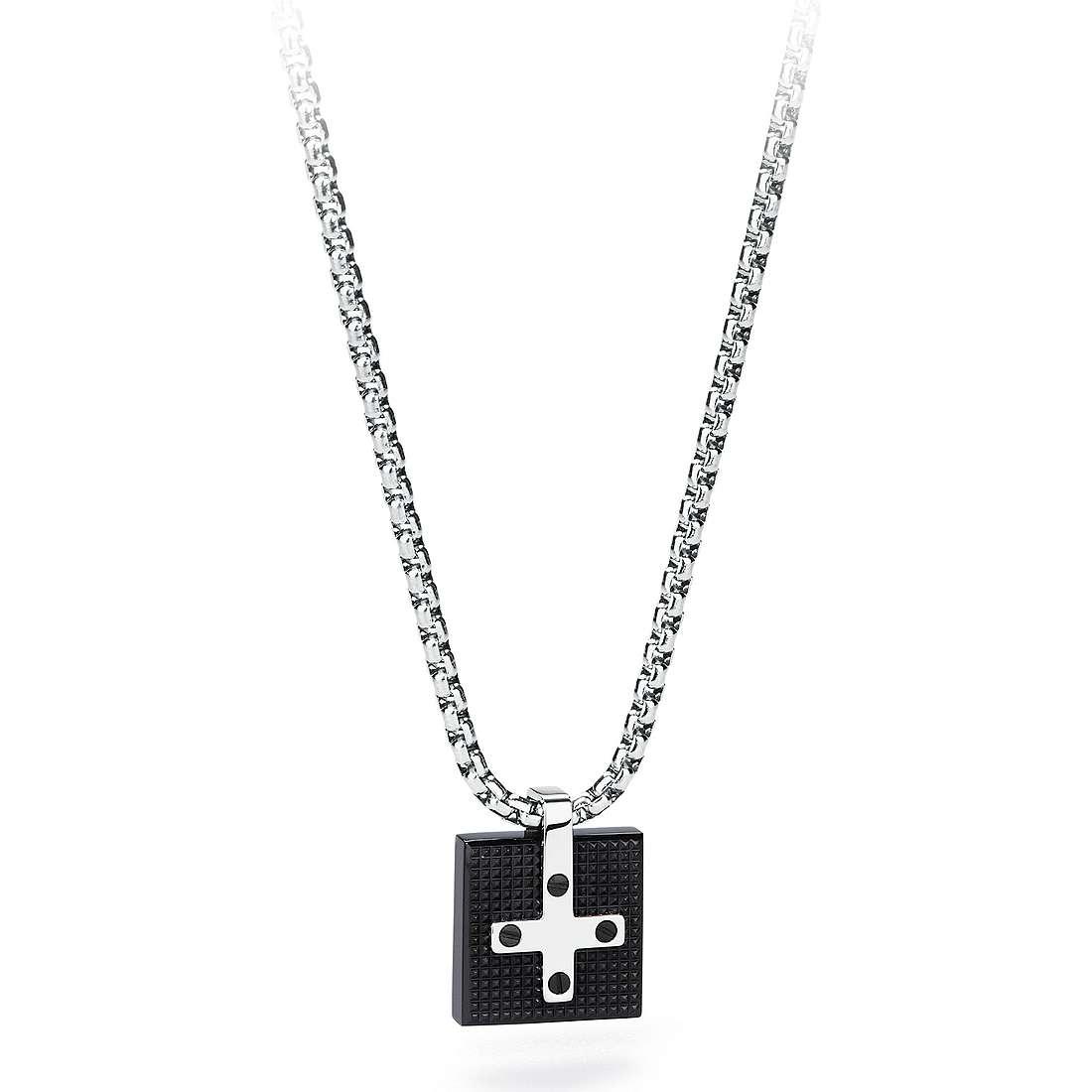necklace man jewellery Sagapò Croix SCX03