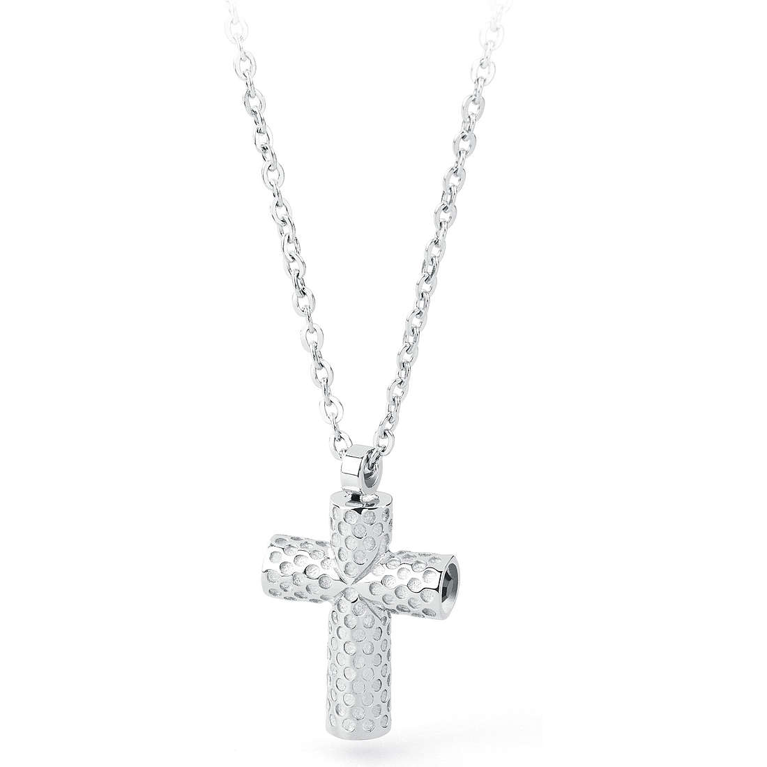 necklace man jewellery Sagapò Croix SGD01