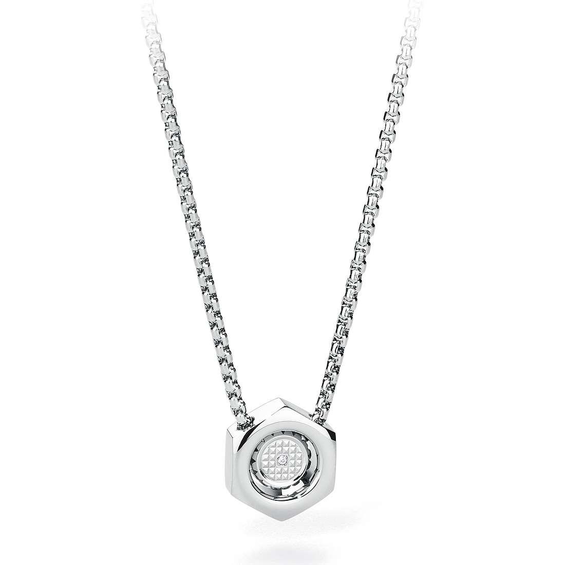 necklace man jewellery Sagapò Gear SGE01
