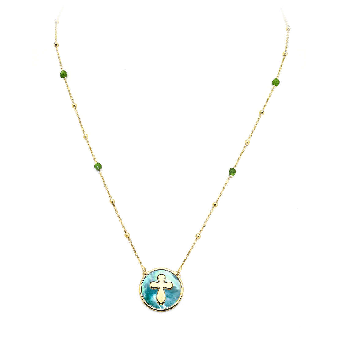 necklace unisex jewellery Amen Madreperle CLMPGV