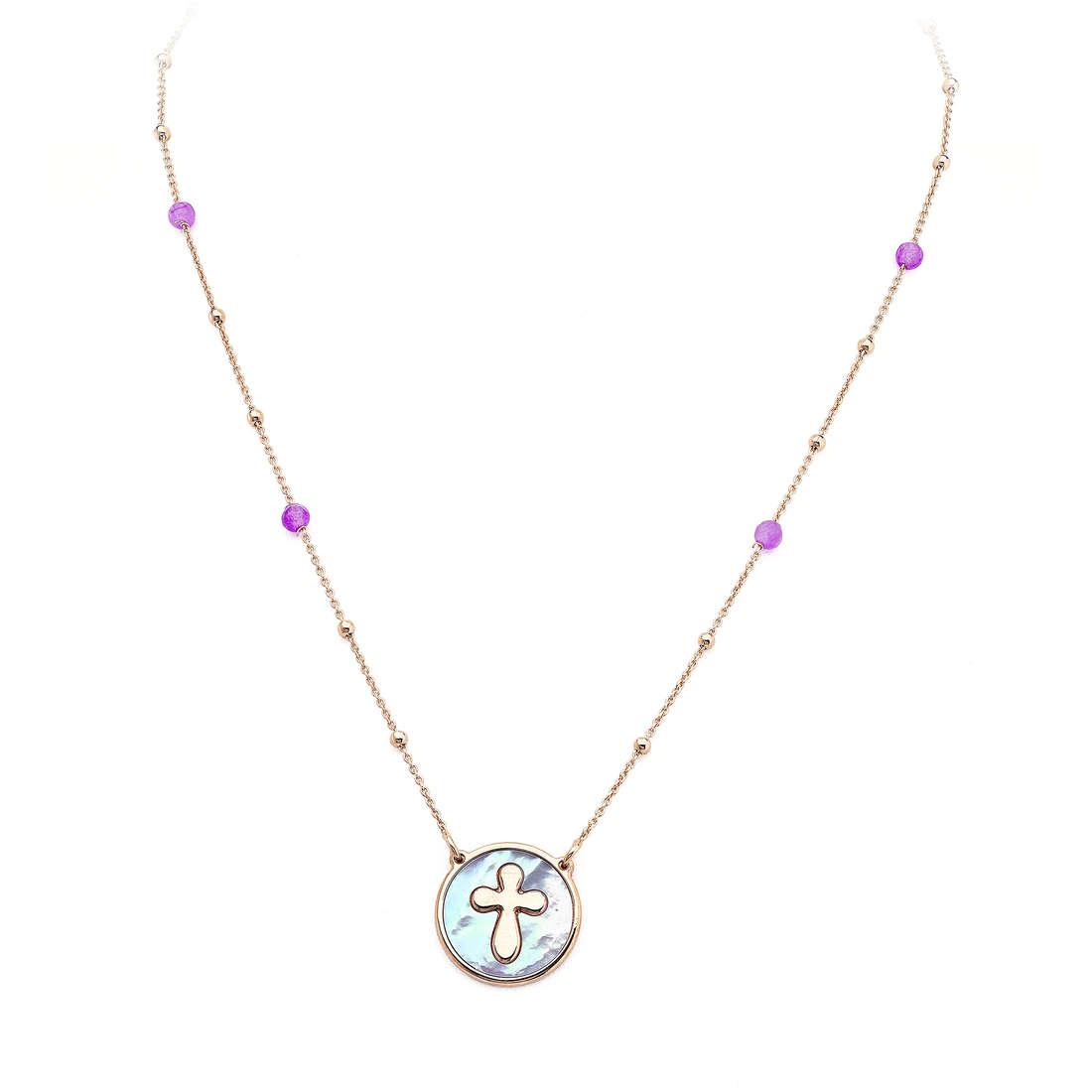 necklace unisex jewellery Amen Madreperle CLMPRV