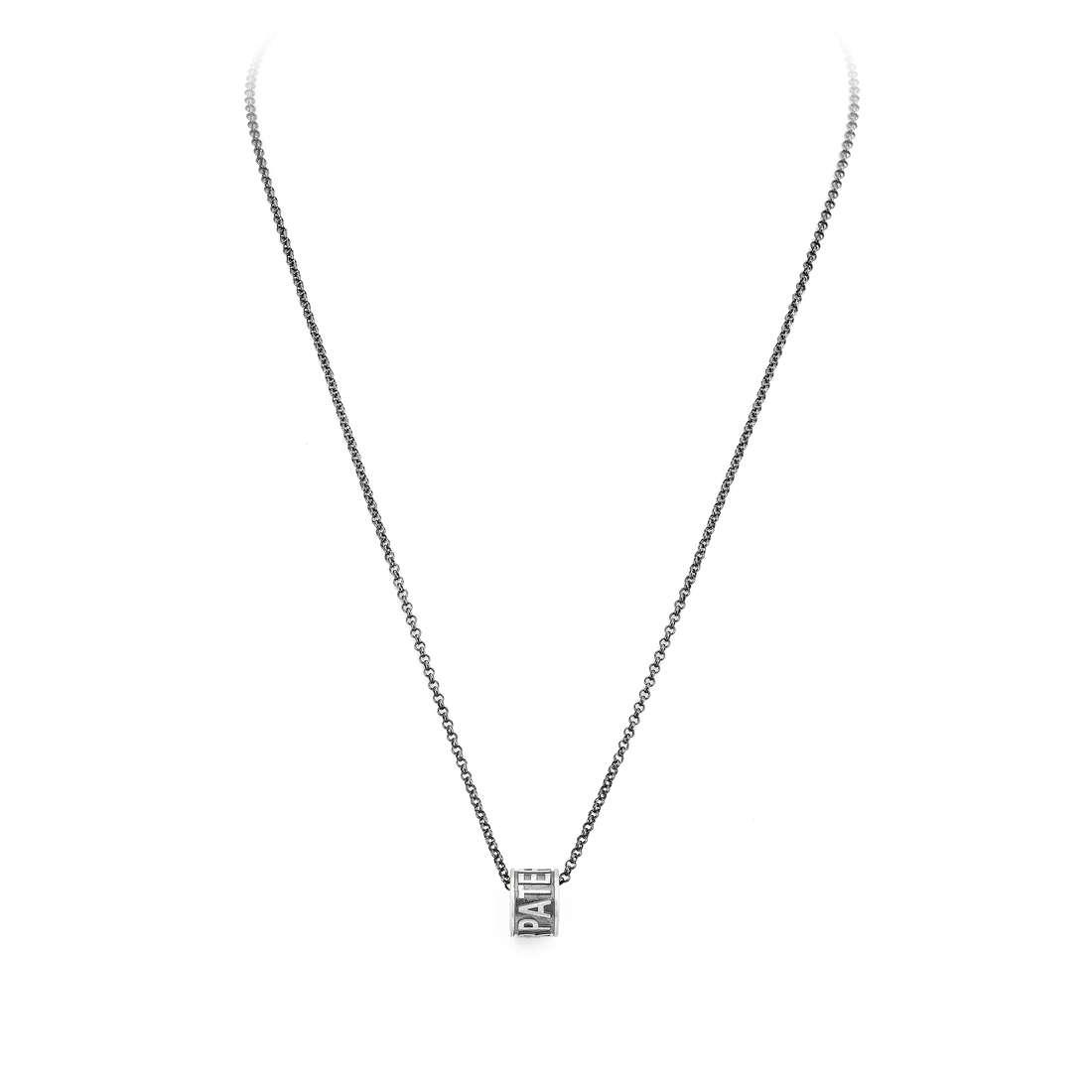 necklace unisex jewellery Amen Padre Nostro CLPN