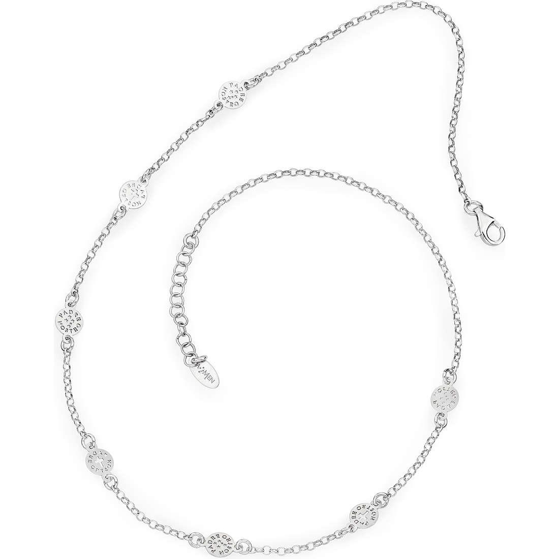 necklace unisex jewellery Amen Padre Nostro Italiano COCL