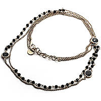 necklace woman jewellery 4US Cesare Paciotti Black Harmony 4UCL1829W