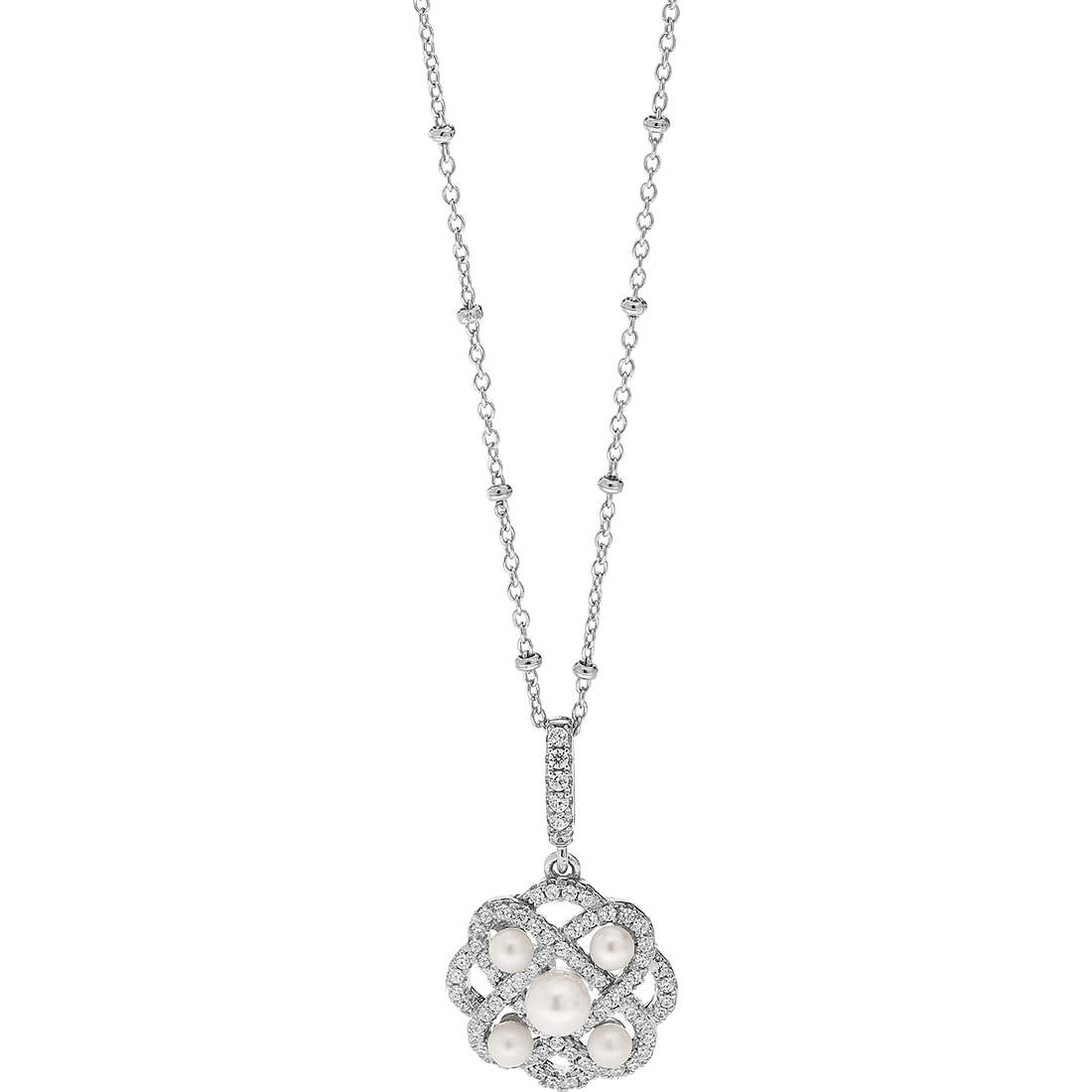 necklace woman jewellery Ambrosia Glam Love AAG 158