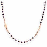 necklace woman jewellery Amen Rosari CRORA3