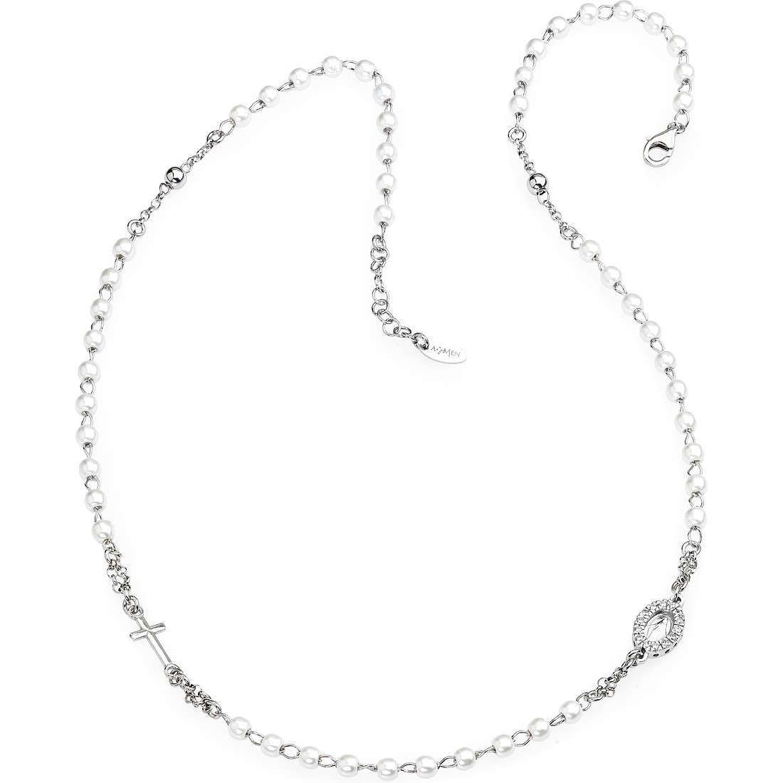 necklace woman jewellery Amen Rosario CROBBZ-M3
