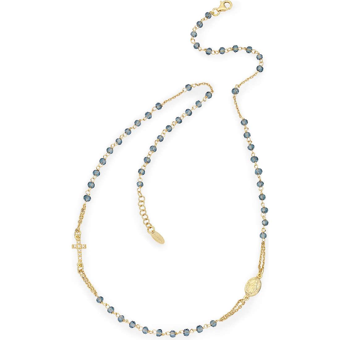 necklace woman jewellery Amen Rosario CROGBLZ3