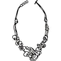 necklace woman jewellery Batucada Cloud BTC12-08-01-01