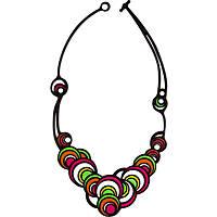 necklace woman jewellery Batucada Dancing Circles BTC8-01-01-01VO