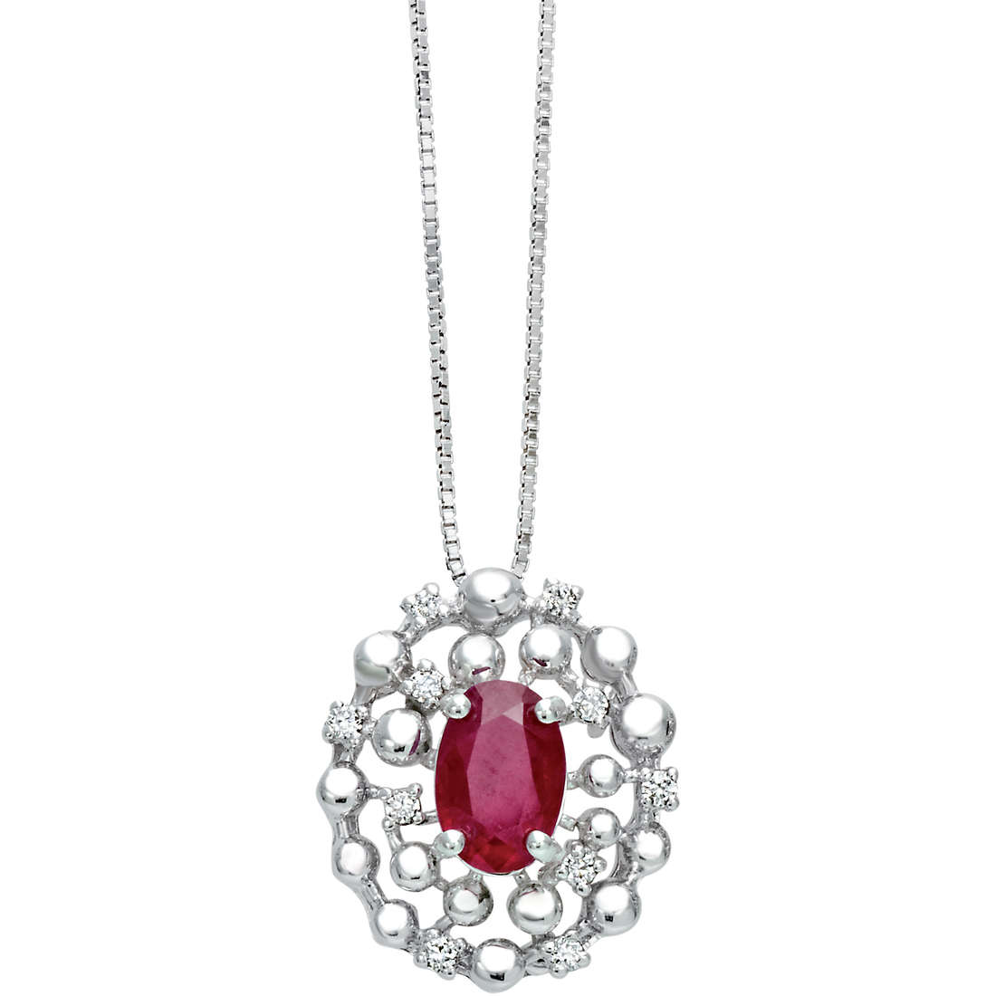 necklace woman jewellery Bliss Champagne 20070096