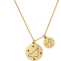 necklace woman jewellery Chrysalis Zodiaco CRNT0010GP
