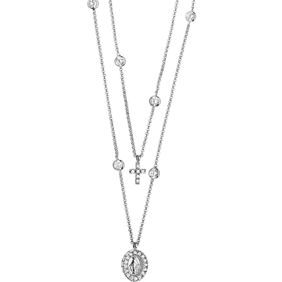 necklace woman jewellery Comete Argento 925 GLA 119
