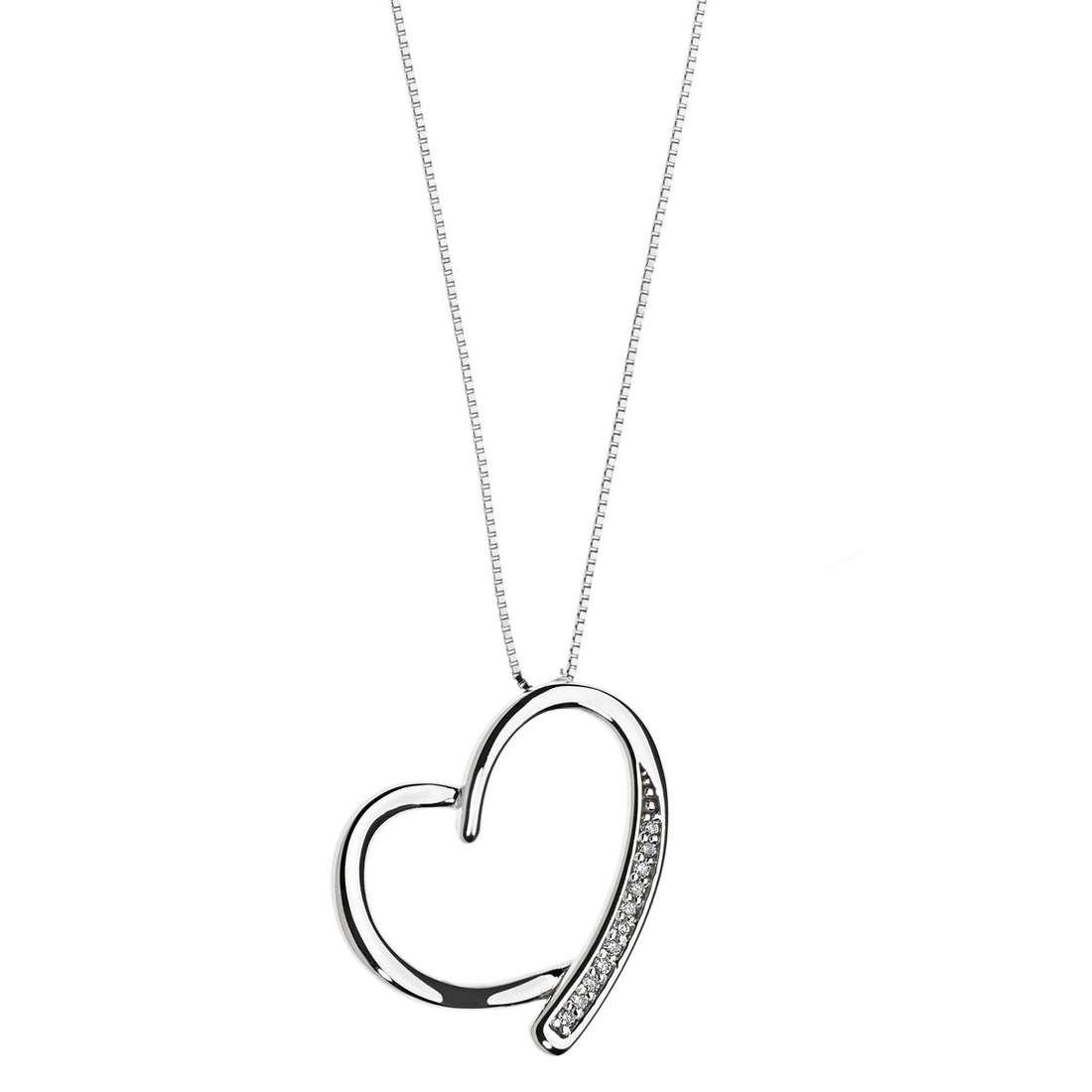 necklace woman jewellery Comete Fantasie di diamanti GLB 1132