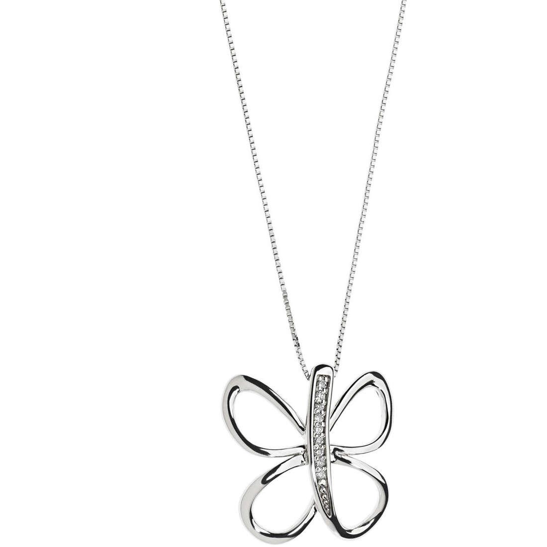 necklace woman jewellery Comete Fantasie di diamanti GLB 1133