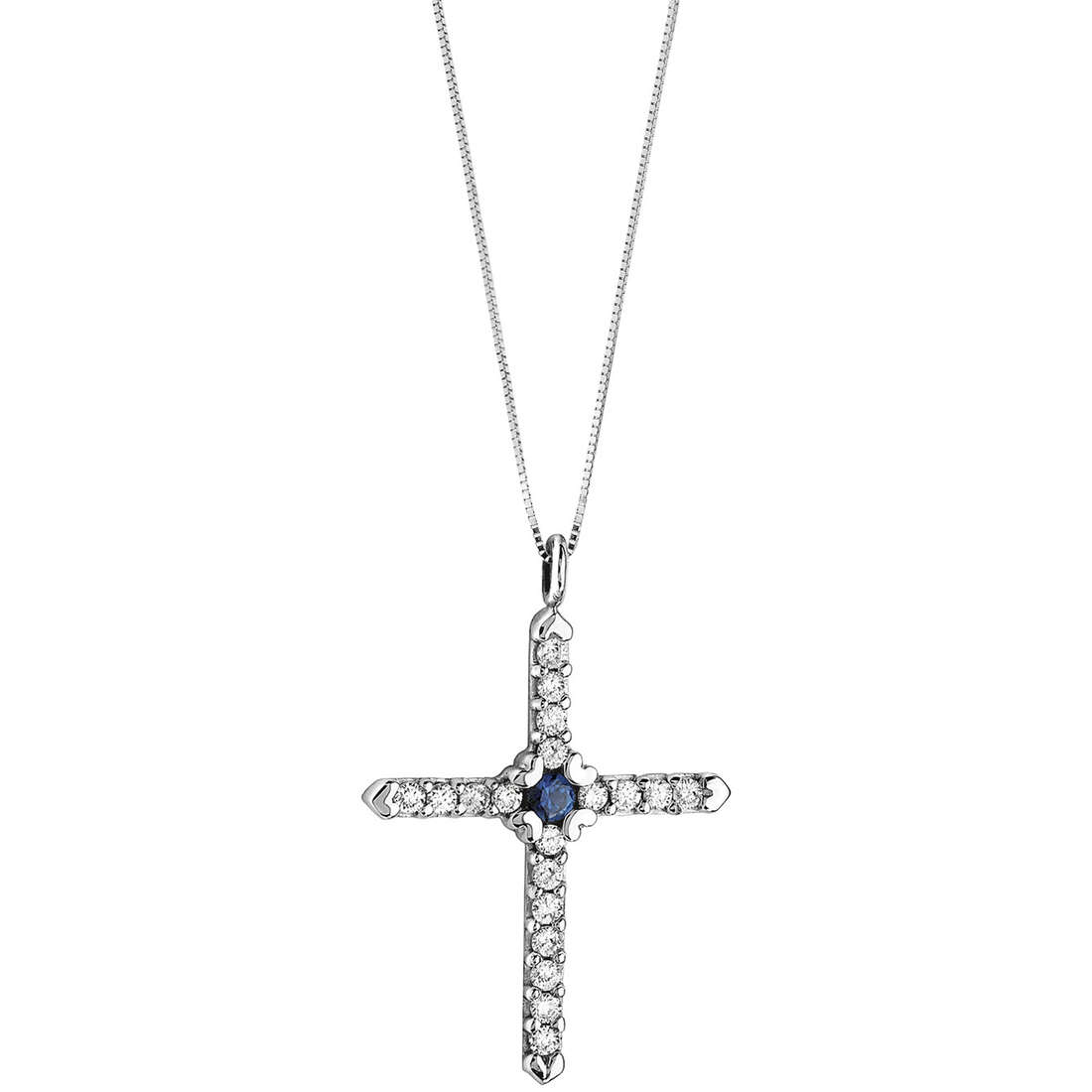 necklace woman jewellery Comete Fantasie di diamanti GLB 1144
