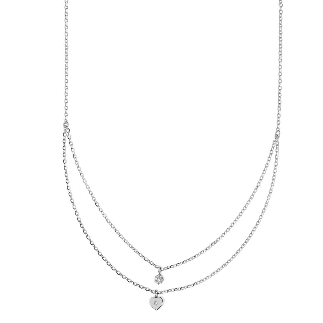 necklace woman jewellery Comete Fantasie di diamanti GLB 1326