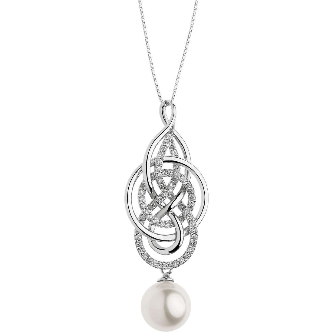 necklace woman jewellery Comete Fantasie di perle GLP 468