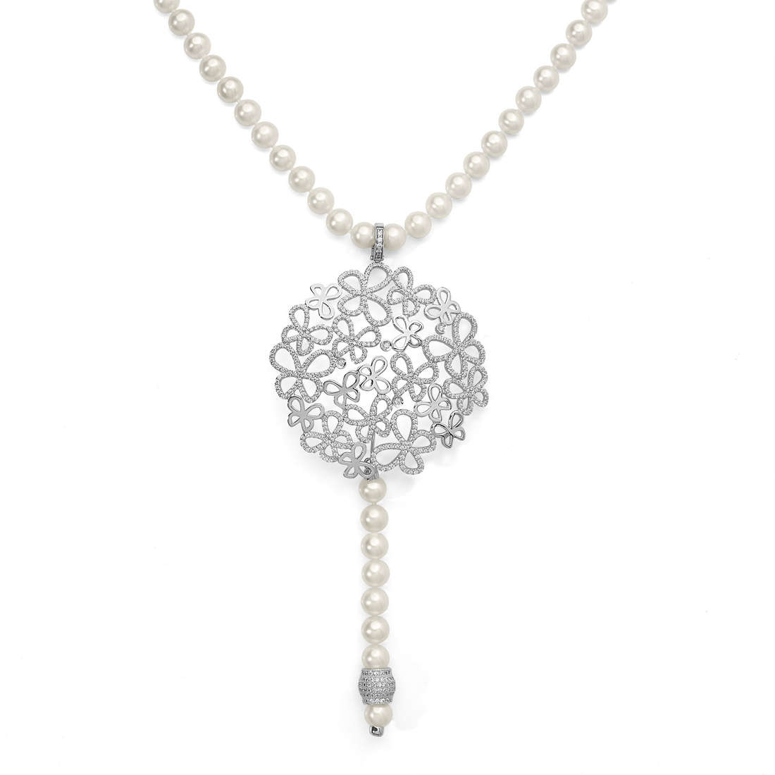 necklace woman jewellery Comete Farfalle GLA 129